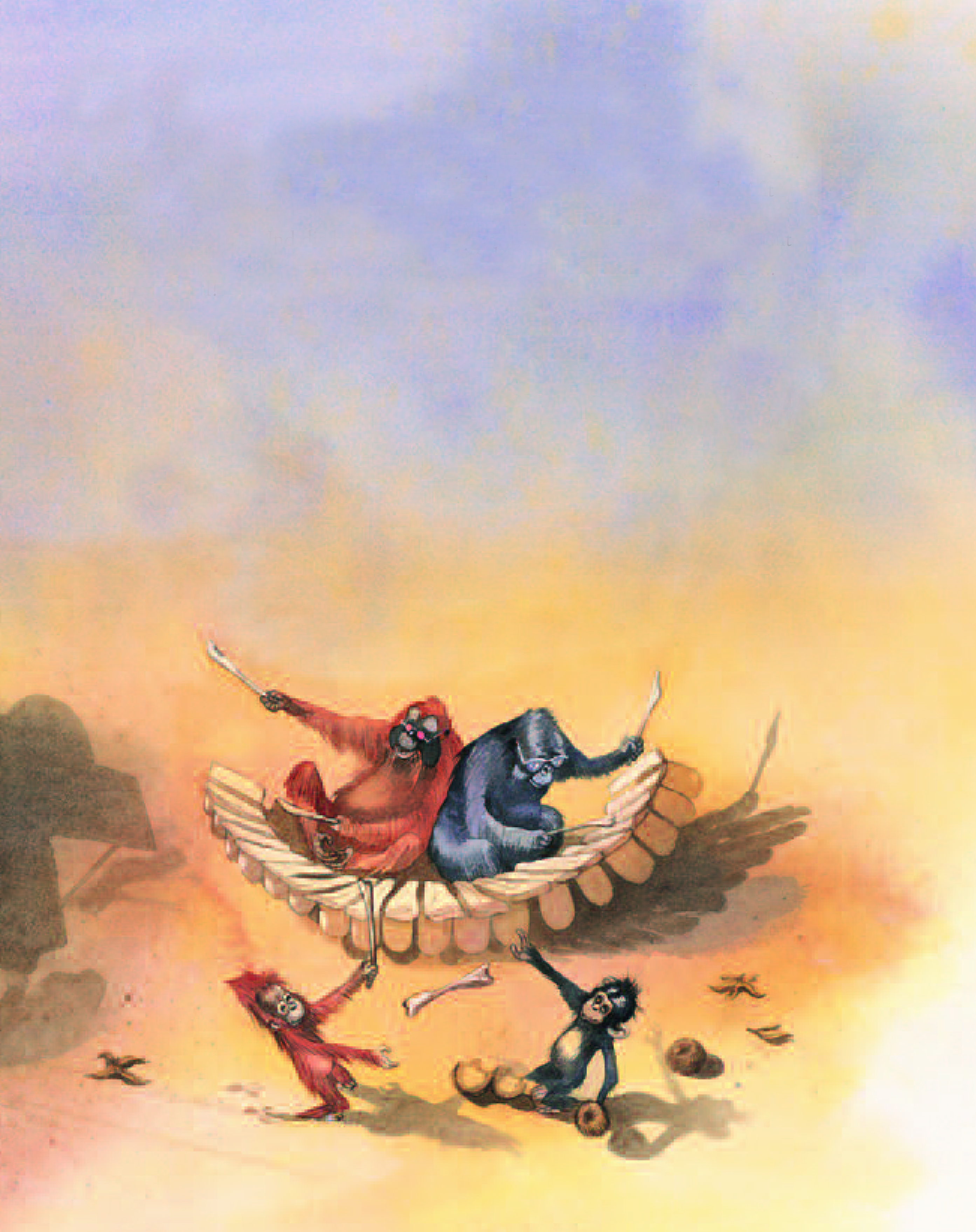 Original-Illus vom AB-Verlag Karneval